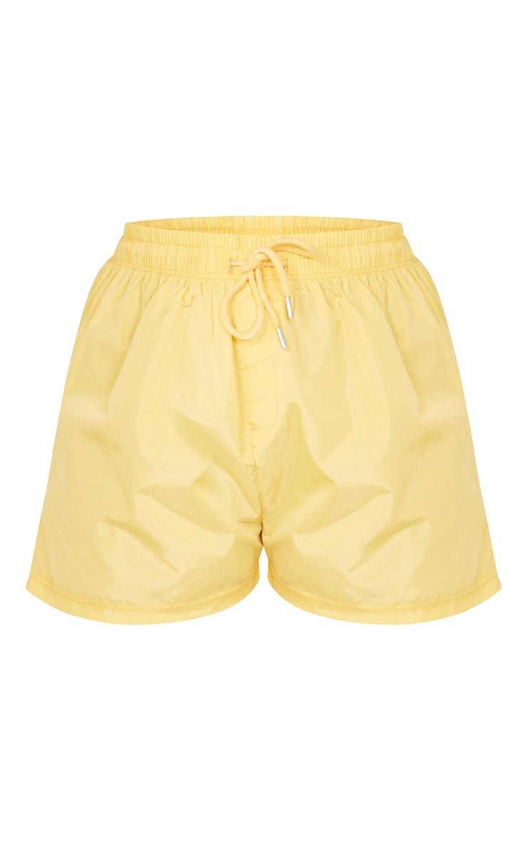 Lemon Yellow Shell Runner Shorts 6