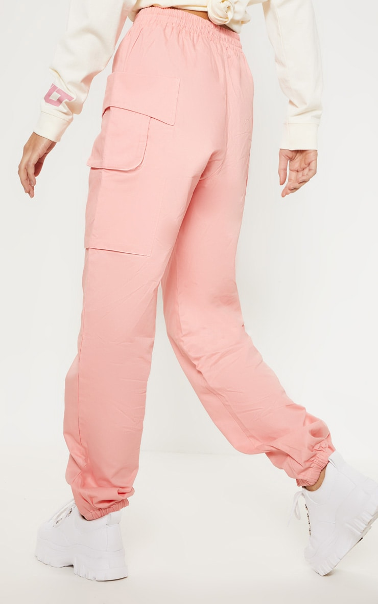 Rose Double Pocket Detail Cargo Pant 4