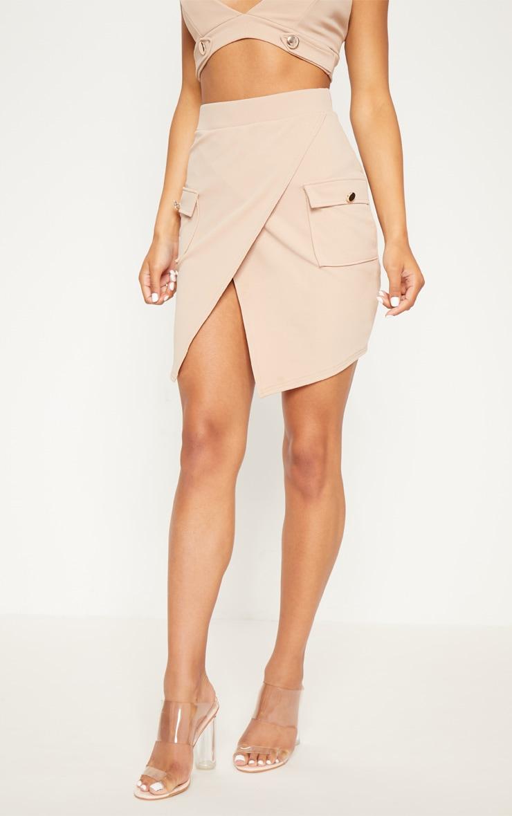 Stone Military Pocket Mini Skirt  2