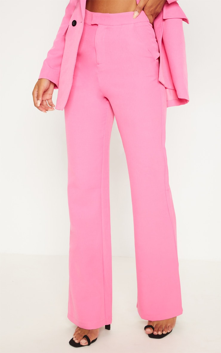 Pink Wide Leg Trousers 2