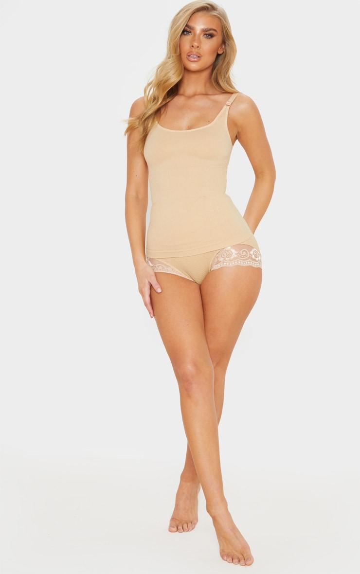Nude Strappy Shapewear Vest 4
