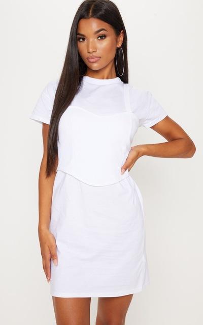 T-Shirt Dress | Oversized & Slogan Dresses | PrettyLittleThing