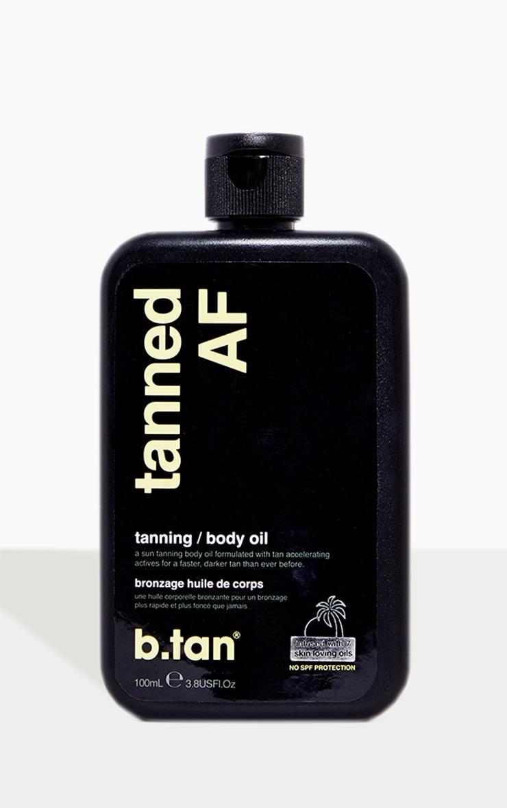 B.tan tanned AF...tanning oil 2