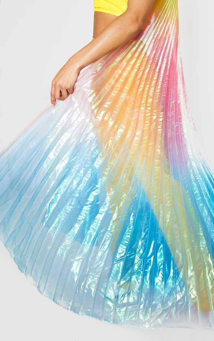 Rainbow Metallic Wings 5