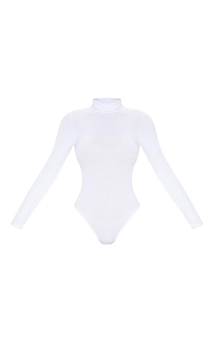 Basic Black & White 2 Pack Roll Neck Long Sleeved Bodysuit 7