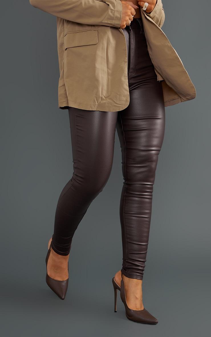Chocolate Coated Skinny Jeans 2