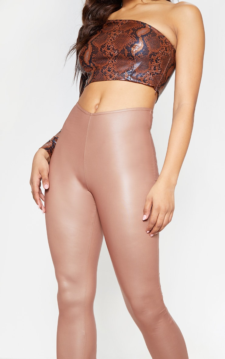 Tall Stone V Front PU Legging  5