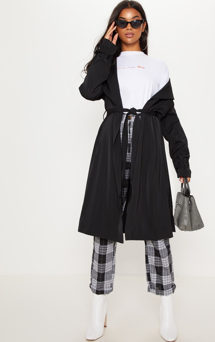 Kiki Black Mac Jacket 1