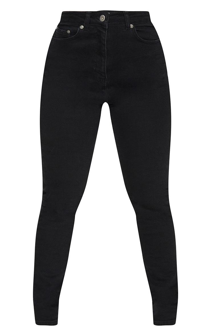 Shape Black Contour Bum Detail Skinny Jeans 5