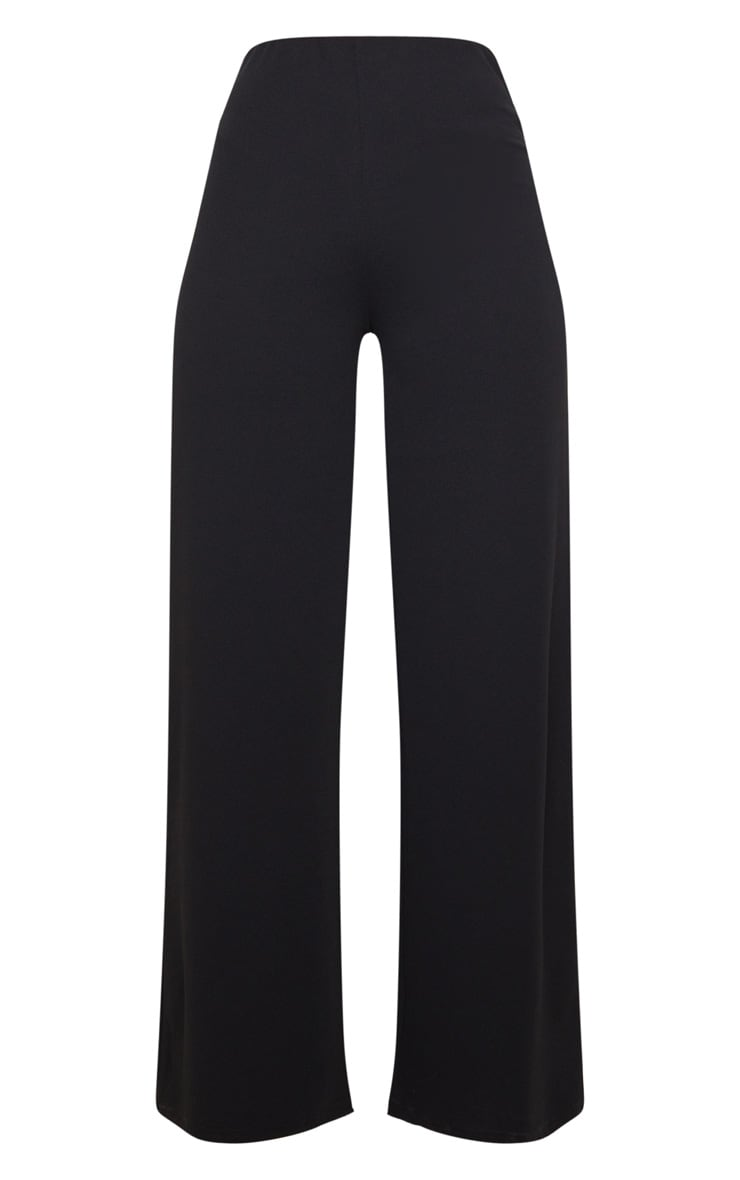 Black High Waisted Wide Leg Pant 5