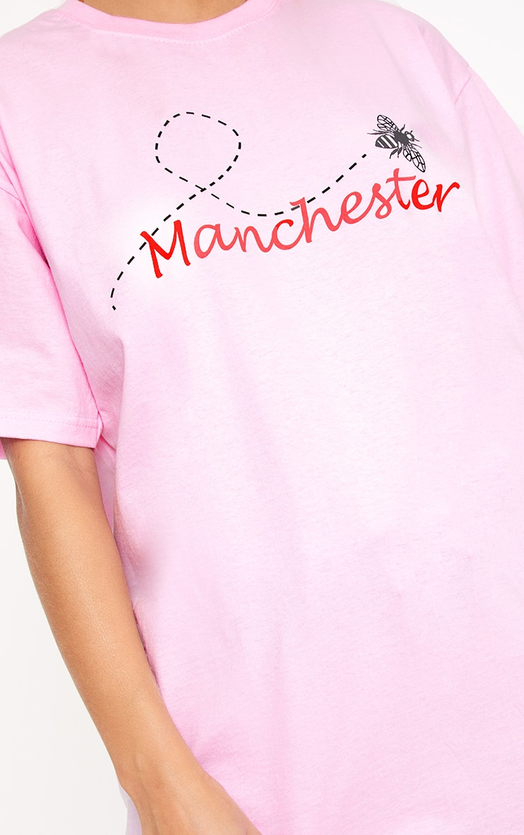 Pink Bee Manchester Charity T Shirt 4