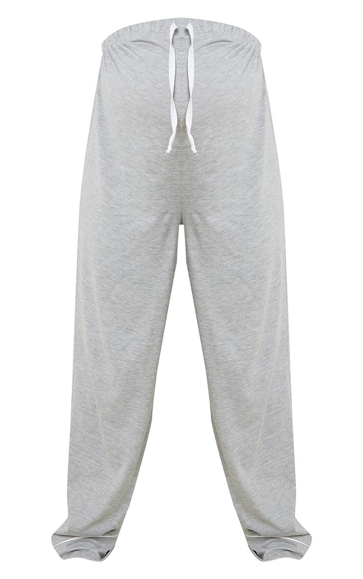 Maternity Grey Wide Leg PJ Trousers 5