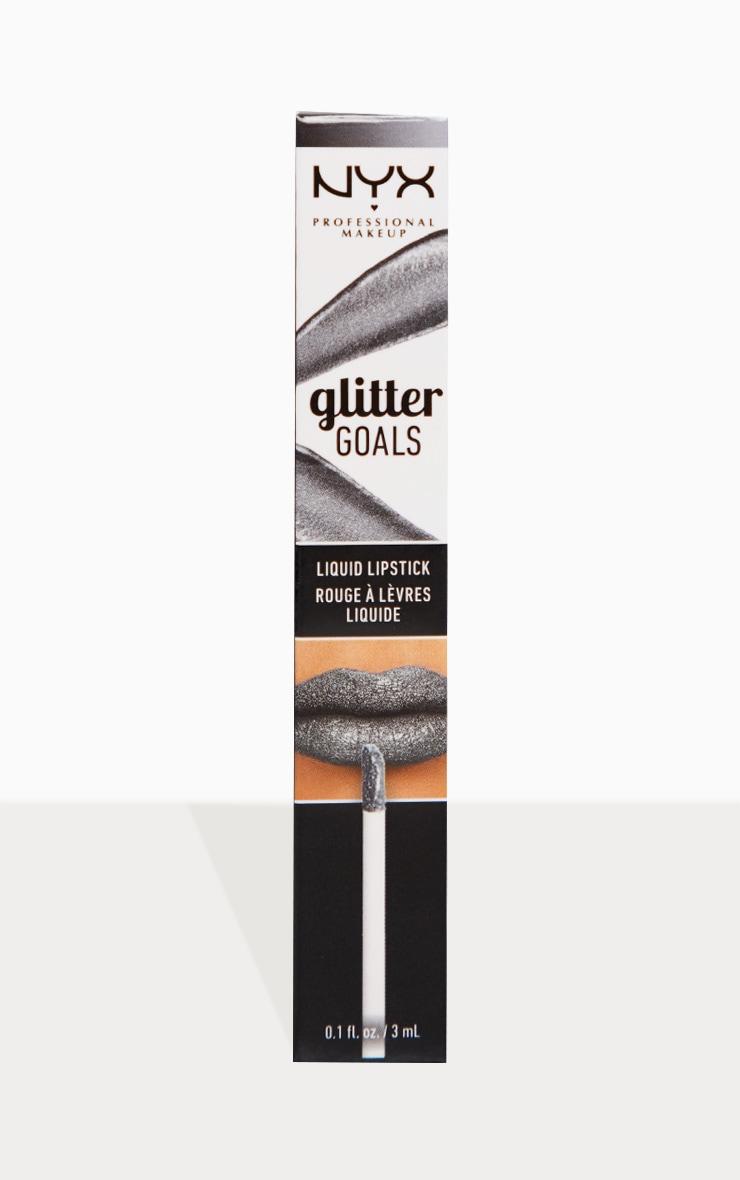 Nyx Glitter Goals Liquid Lipstick Aliena   PrettyLittleThing AUS