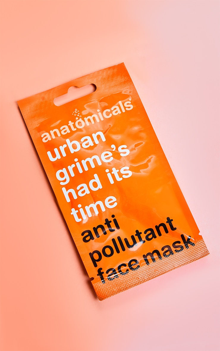 Anatomicals Urban Grime It's Had It's Time Face Mask 3