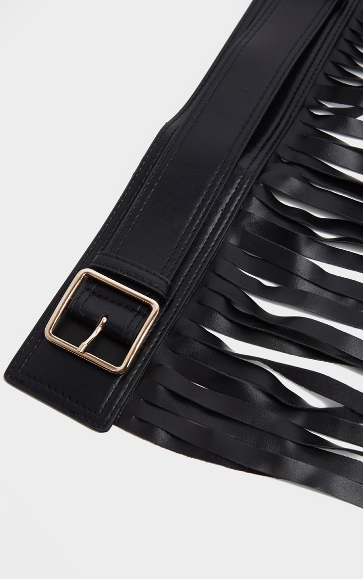Black Western Fringe Belt 3