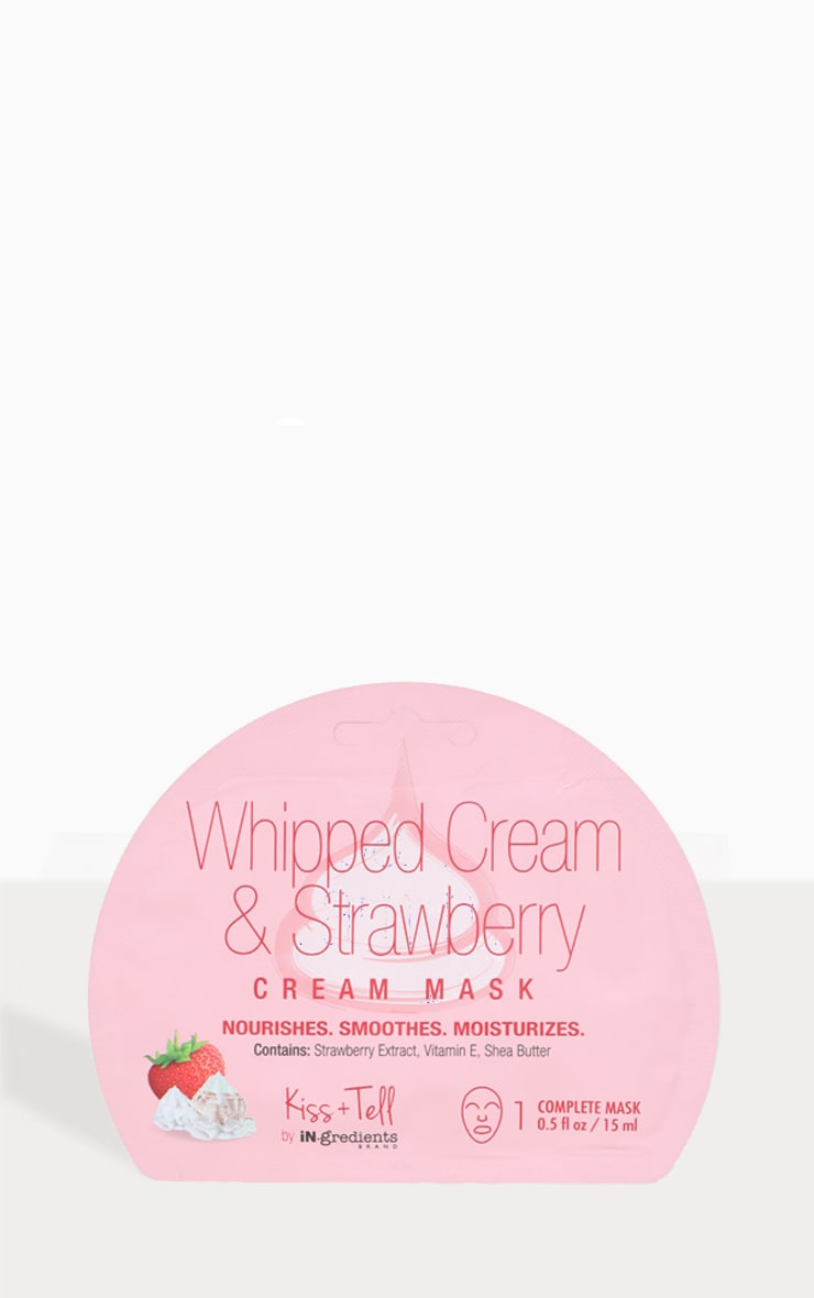 iN.gredients Whipped Cream & Strawberry Cream Masks  2