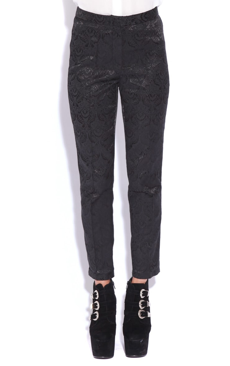 Felix Black Baroque Trousers 2