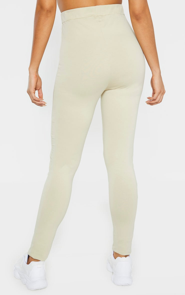 PRETTYLITTLETHING Tall Stone Taping Legging  4