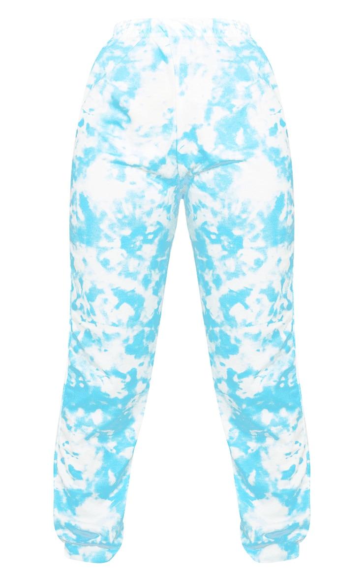 Blue Tie Dye Casual Joggers 5