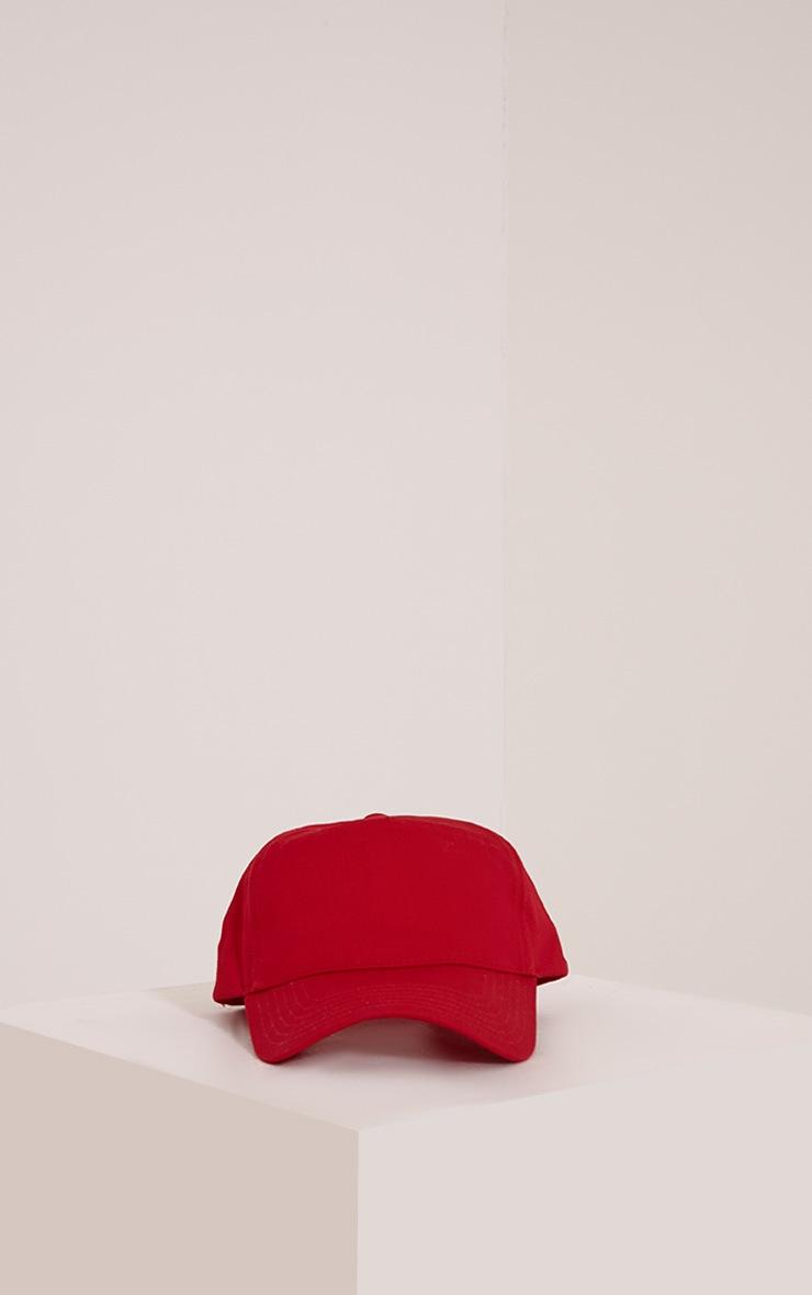 Carlita Red Trucker Cap 4