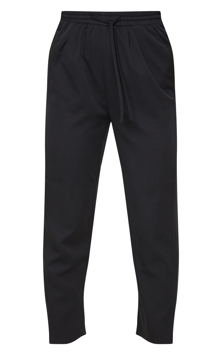 Black Cigarette High Waisted Trousers 5