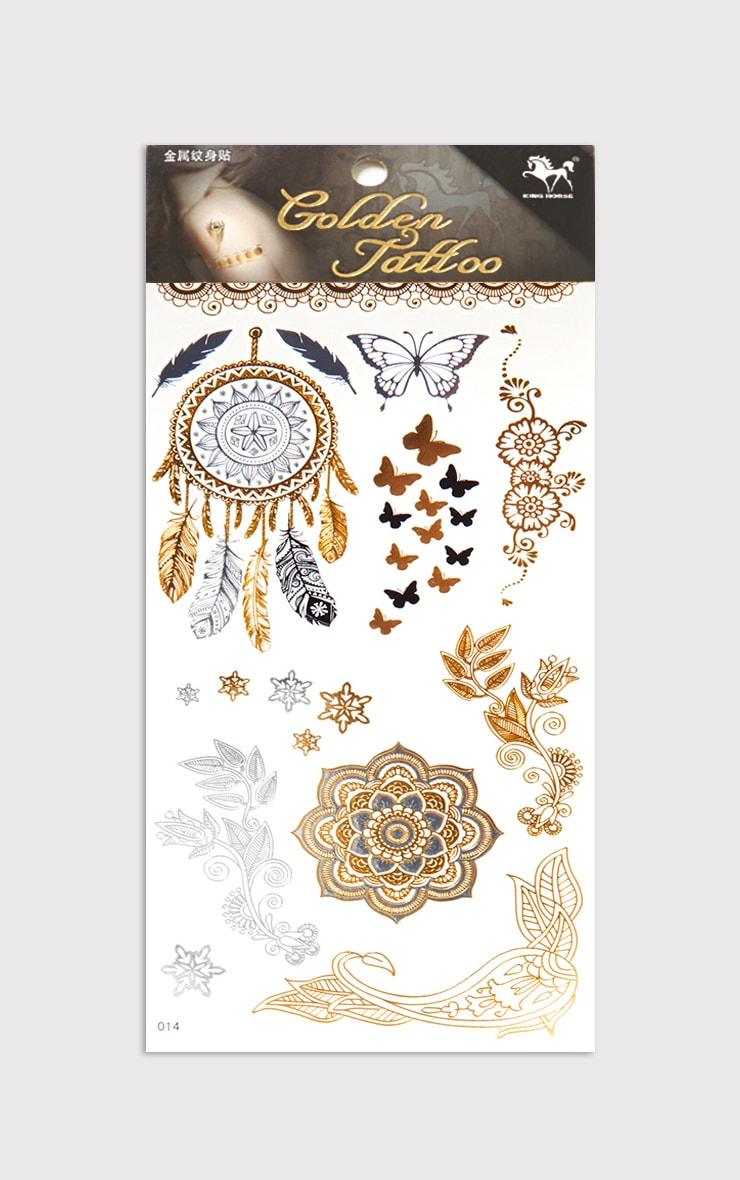 Assorted Gold Tattoo Kit 2