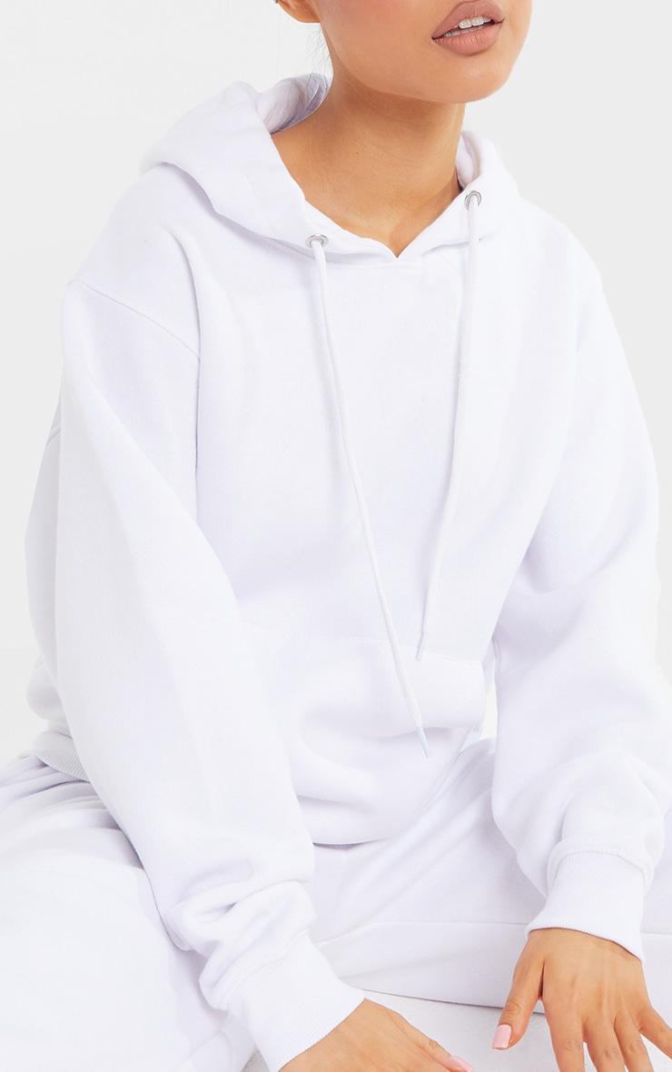 Petite White Ultimate Oversized Hoodie 4