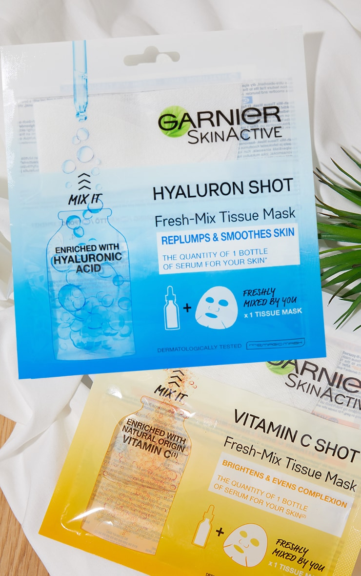 Garnier Fresh-Mix Replumping with Hyaluronic Acid Sheet Mask 3