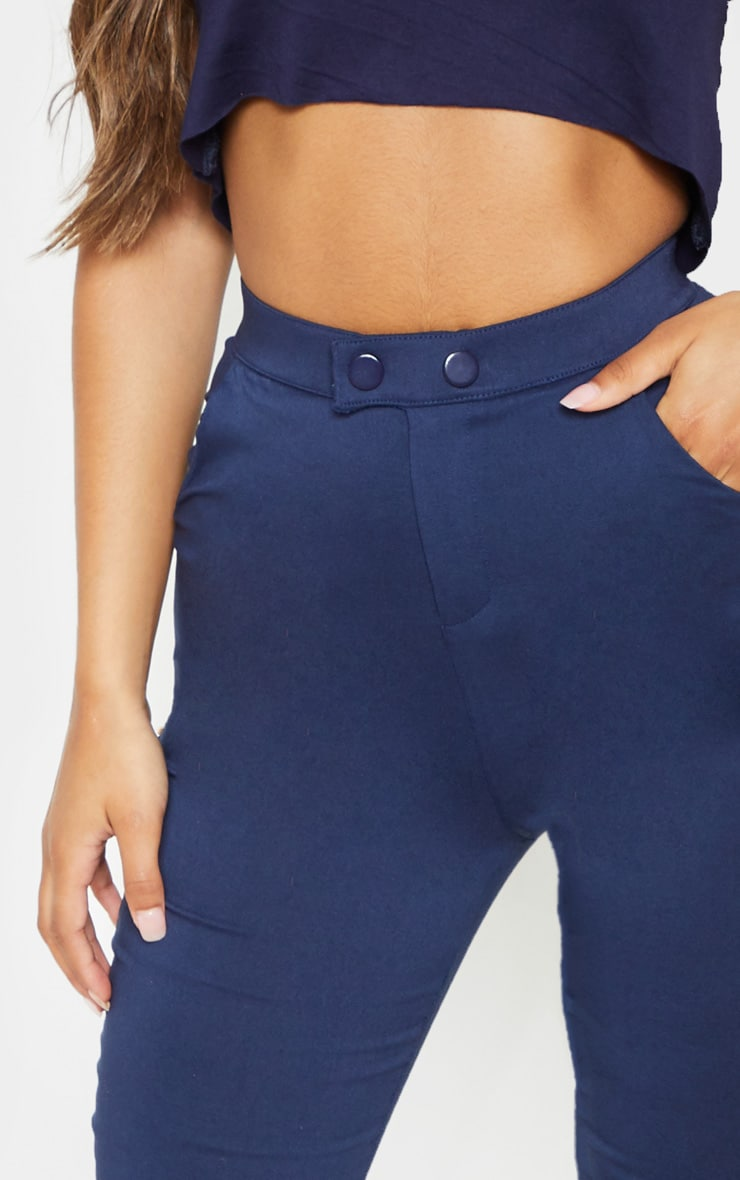 Navy Simi High Waisted Jeggings 5