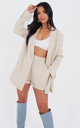 Petite Stone Oversized Suit Blazer 1