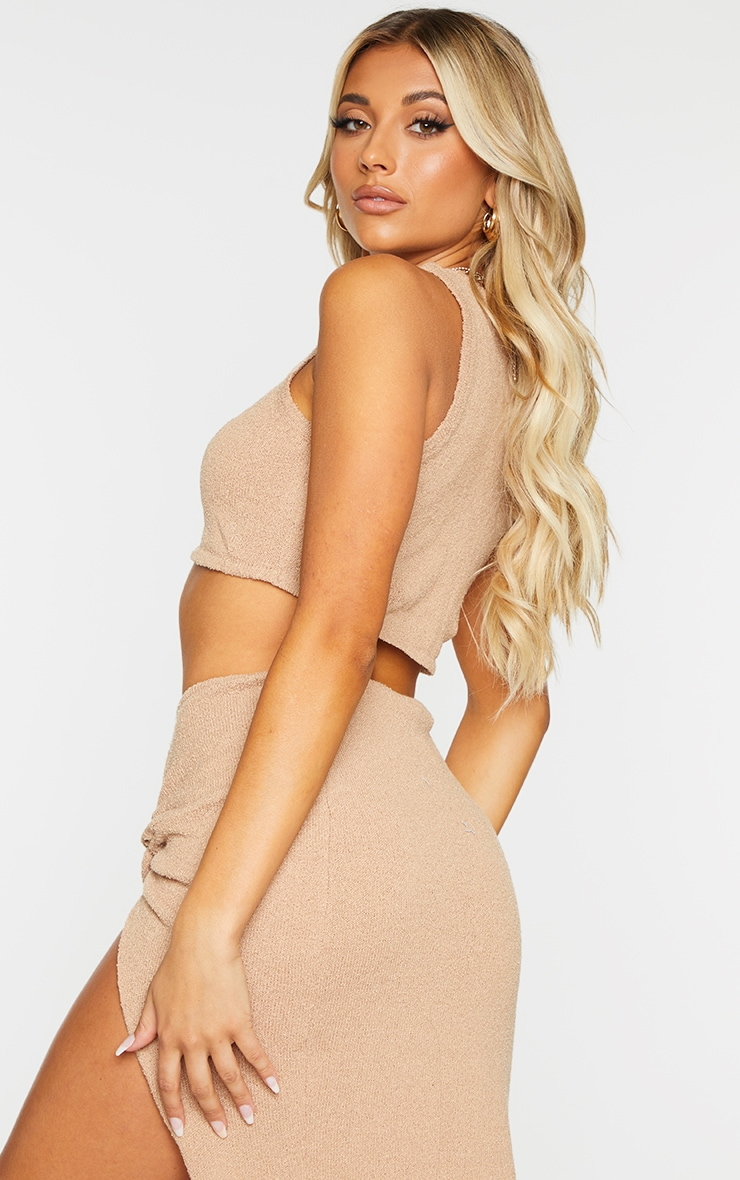 Stone Racer Towelling Knit Top 2