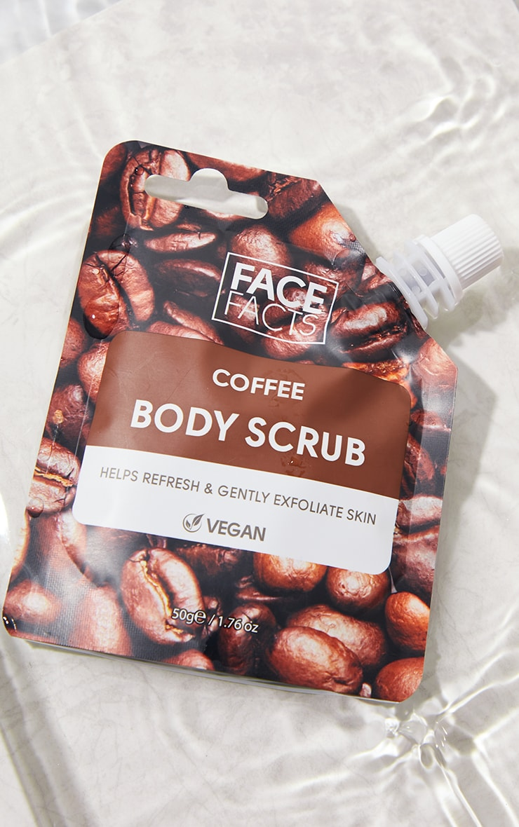 Face Facts Body Scrub Coffee 1