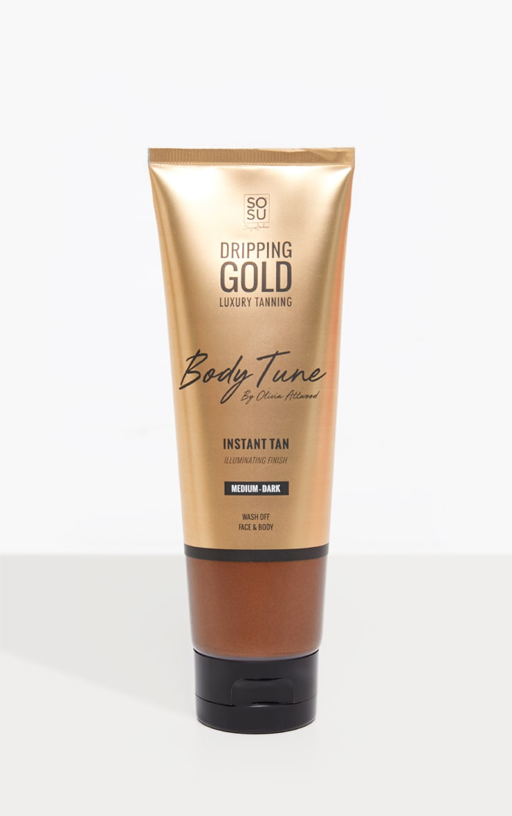 SOSUBYSJ Dripping Gold Body Tune Instant Tan 125ml  3