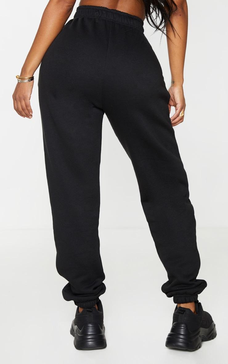 Shape Black High Waisted Pocket Detail Joggers 3