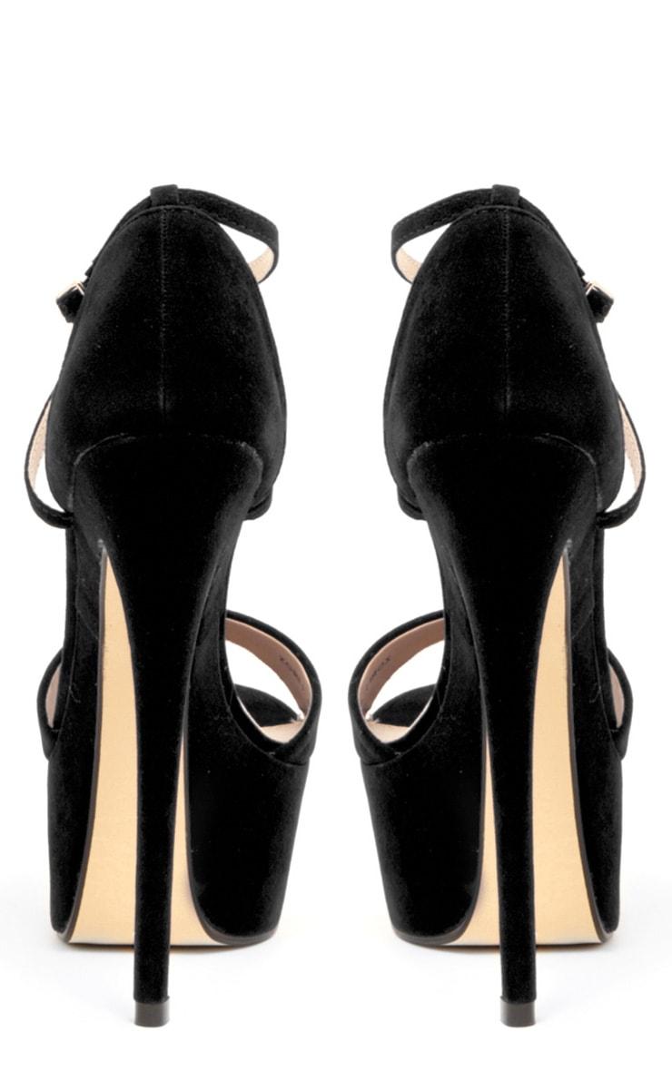 Tori Black Suedetter Heels 2