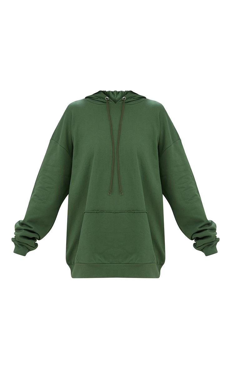 Khaki Oversized Hoodie 3