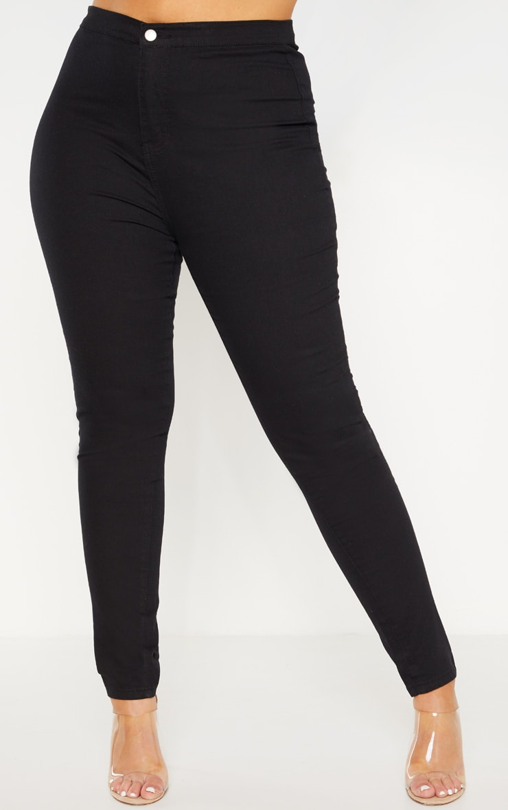 Plus Black Stretch Jegging 4