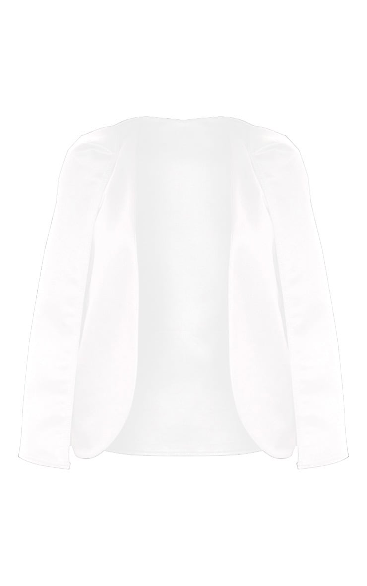 White Cape Blazer  3