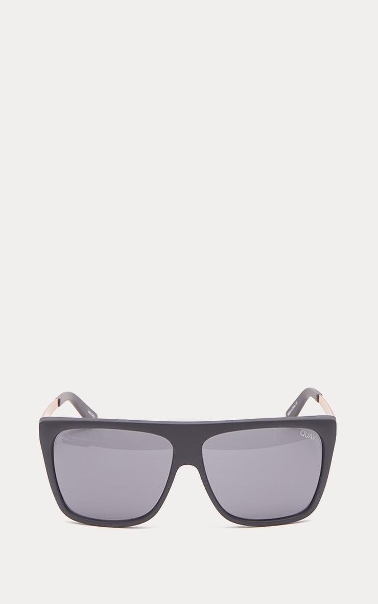 QUAY AUSTRALIA Black OTL II Oversized Sunglasses 2