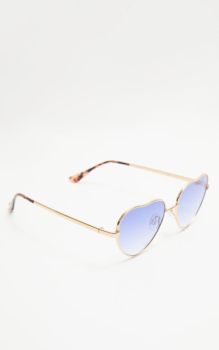 QUAY AUSTRALIA Blue X Elle Ferguson Collaboration Kim Sunglasses 2