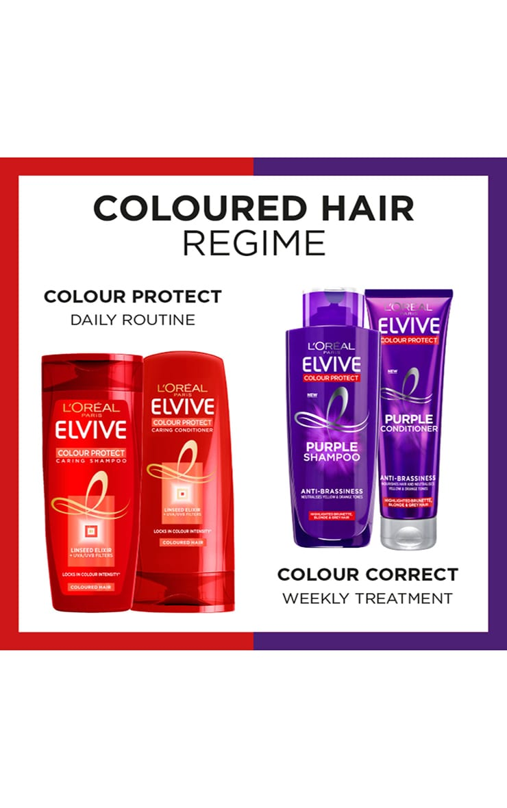 L'Oreal Elvive Colour Protect Anti-Brassiness Purple Shampoo 200ml 6