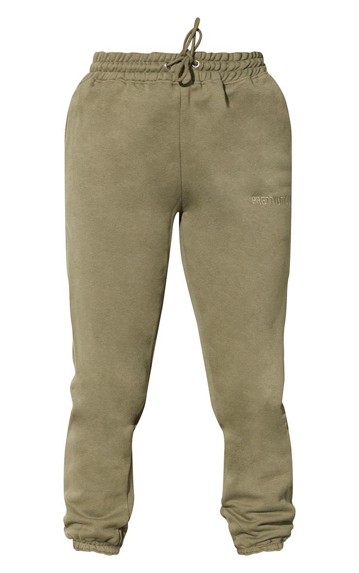 RENEW PRETTYLITTLETHING Khaki Oversized Joggers 5
