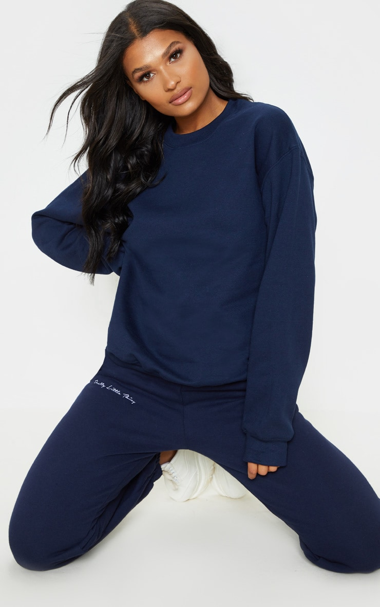 Navy Ultimate Oversized Sweater 1