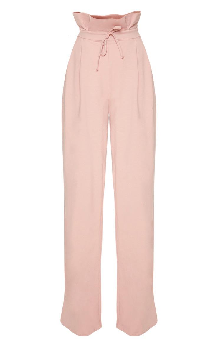 Rose Paperbag Wide Leg Pants 3