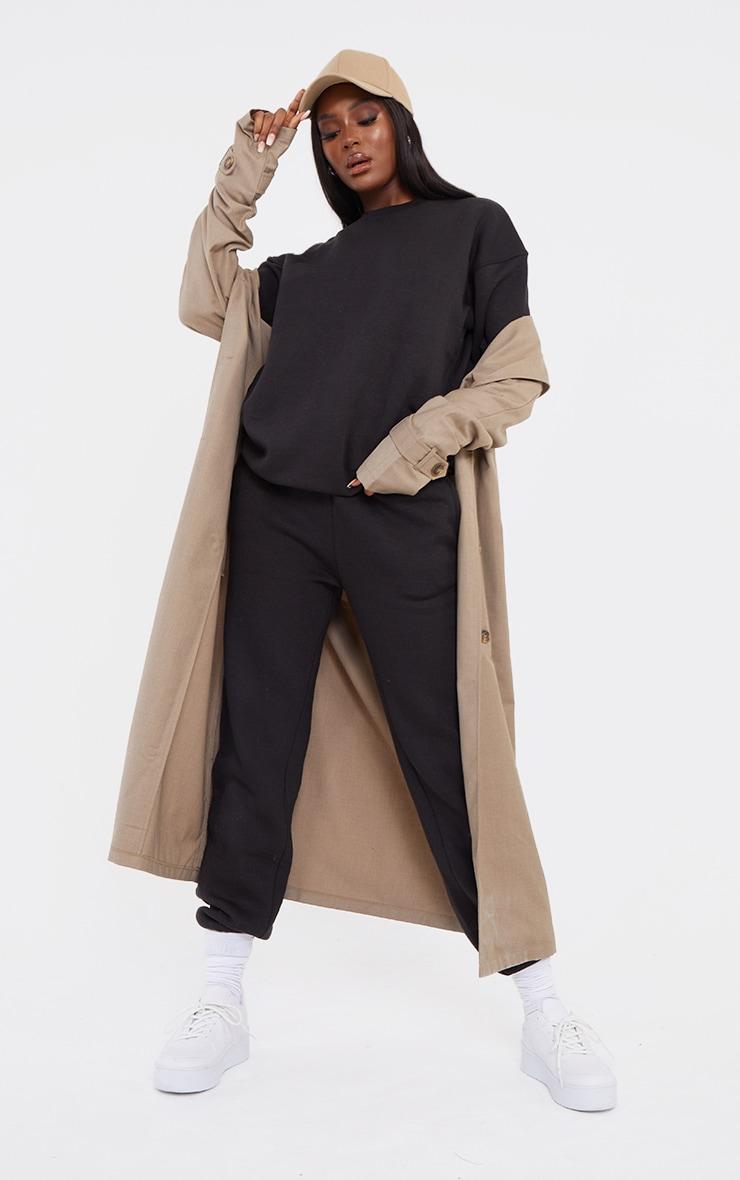 Tall Black Ultimate Oversized Sweatshirt 3