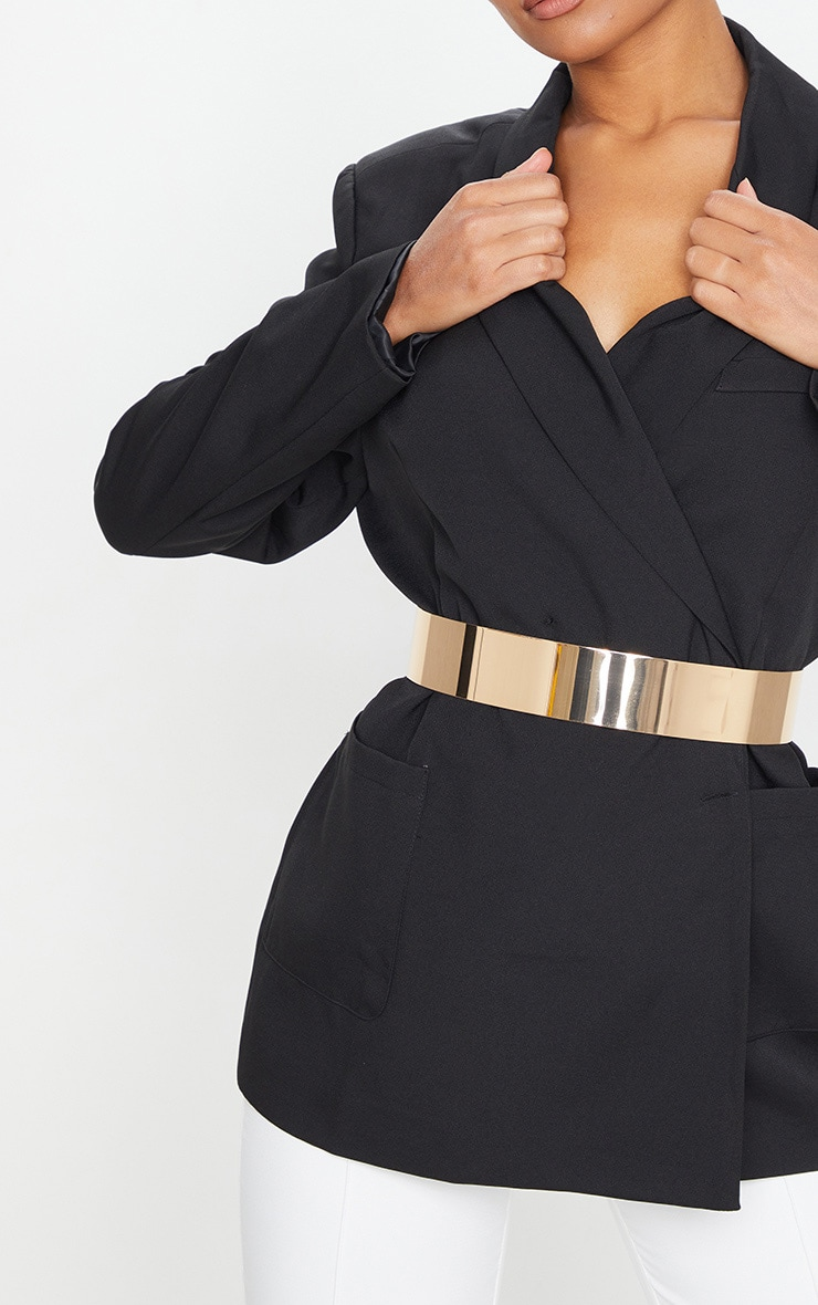 Gold Metal Plated Waist Belt 1