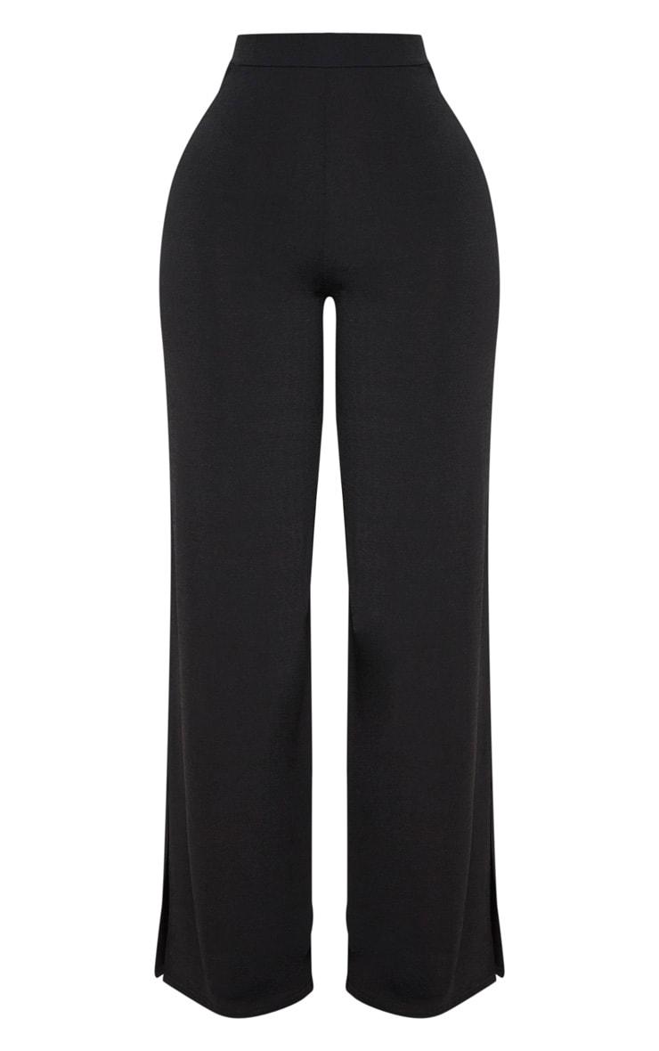 Shape Black Slinky Extreme Wide Leg Trousers 3