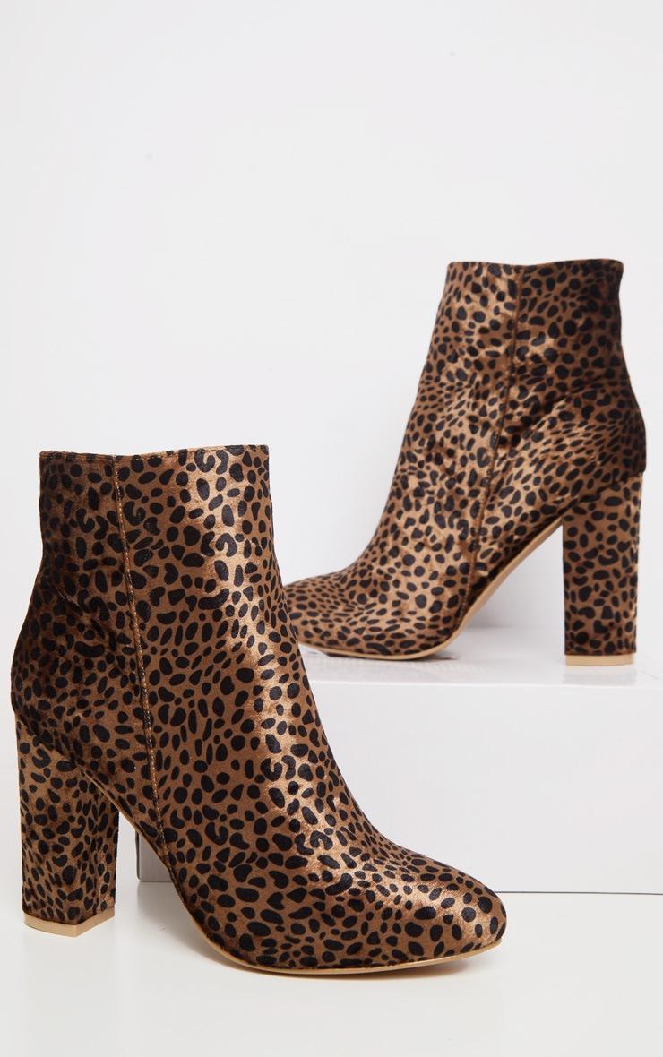 Leopard Behati Ankle Boot 3