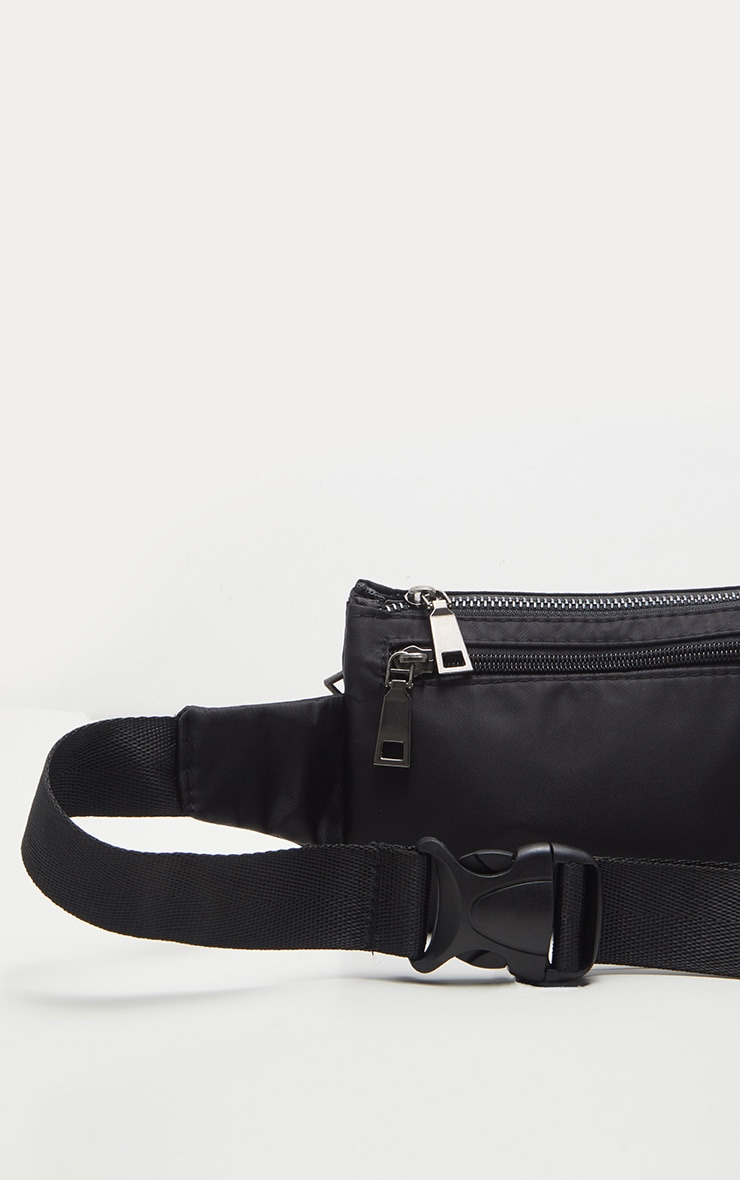 Black Thin Fanny Pack 3
