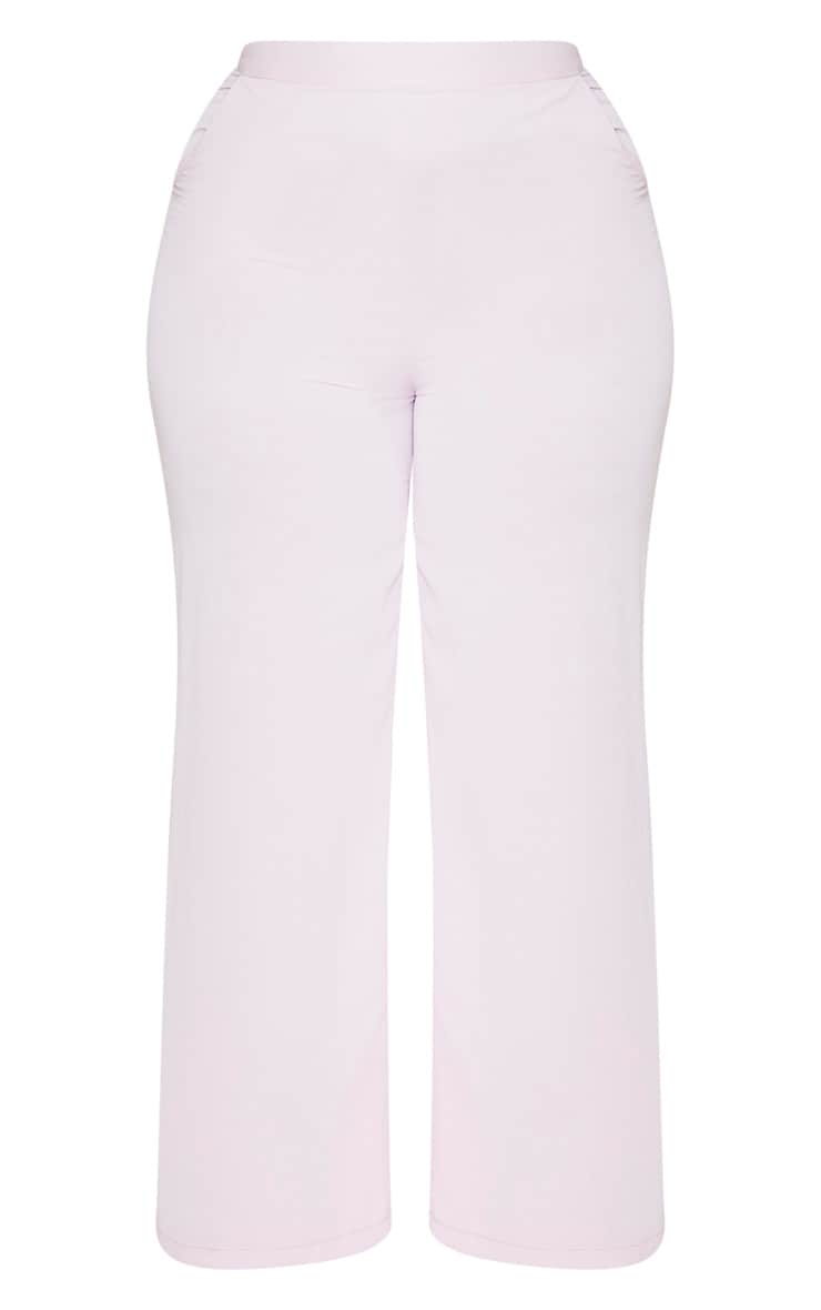 Plus Lilac Extreme Wide Leg Trouser 3